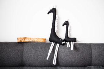 Długoszyje żyrafy – zabawki kontrastowe i sensoryczne nie tylko dla najmłodszych