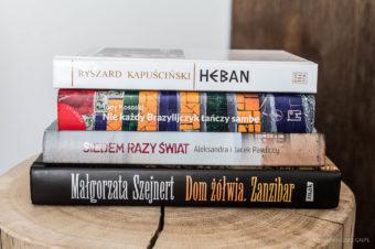 Zaczytaj się w podróży! <br> Siedem razy świat, Heban, Dom Żółwia. Zanzibar, <br>Nie każdy Brazylijczyk tańczy sambę